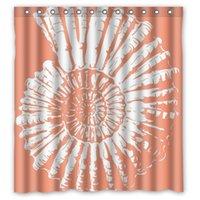 bathroom curtain fabric - ART Vintage Haeckel Sea Shell Custom Shower Curtain quot x72 quot Waterproof Fabric Shower Curtain for Bathroom