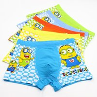 Wholesale Hot sale Despicable Me Minions Cartoon Lovely kids underwear High quality boys underwear L XL XXL fit yrs children
