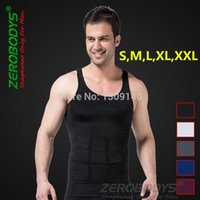 beer vests - Zerobodys Mens Powerful Slimming Abdomen Vest Hot Body Shaper Girdle Beer Belly Buster Shapewear Underwear Corset for Men B107