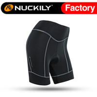 Wholesale Nuckily Bike riding easy match spceial pad bike shorts for women Nuckily simple design for ladies NS359