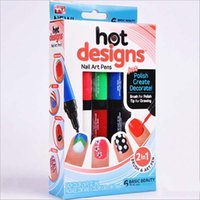 Wholesale Nail Art Pen Painting Design Tool Colors Optional Drawing Gel Made Easy DIY Nail Tool Kit Factory DHL