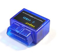 Cheap 2014 Latest version Super Bluetooth Mini ELM327 OBD Interface OBD2 CAN-BUS Car Diagnostic Code Reader for Android V2.1 Free Shipping