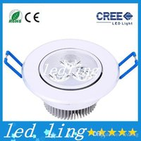 Wholesale led Ceiling lamps High Power Led Ceiling Light W Led Bulb LED Lighting Led Light Spotlight Down Light With Drive Warm Cool WhiteBulb