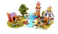 animal puzzle adventure - ZILIPOO D Puzzle Fairy Tale Model Toy The Adventures of Pinocchio Children s Safe Non toxic Foam Paper Model DIY Jigsaw