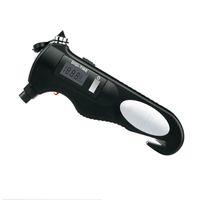 air guage - Car Emergency Air Guage Hammer Flashlight Display Camping Emergency Torch Light Glass breaker Seat belt cutter Scissors Pliers