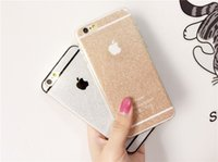 bling iphone case - Bling Bling Shining Glitter i Phone cases Soft TPU Silicone Case Cover For iphone plus s s iphone Back Cover Case
