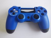 Wholesale Full Set High Quality For PS4 Wireless Controller Cover Controller Shell Case Black Red And Blue Color For Playstation4 Gamepad