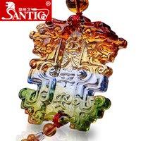 accessories ge - Sage Ge crystal pendant accessories ornaments upscale talismans brave car