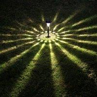 Tours d'éclairage dirigé Avis-Solar Light Jardin Lumière LED Lighting \ Tour Lampe solaire en plastique noir et l'option Bronze Can 2pcs Extérieur LED solaire Paysage