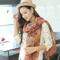 Wholesale women spring and autumn shawls and scarves pyhthon printing scarf women plus size NL