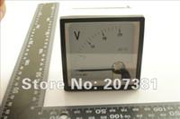 Оптово-1 PCS Новые аналоговые Вольт метр панели DC 0 ~ 20V *