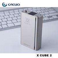 wholesale suits - Authentic Smok Xcube II w TC Mod For Battery Suit Smok TFV4 Tank Joyetech Delta Smoketech X cube