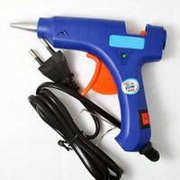 Wholesale 20W Hot Melt Glue Gun Stick Heater Trigger EU Plug Electric Repair Tool Craft LY643