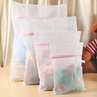 Wholesale High quality clothing care wash bag print laundry bag at home clothing bra socks classification of washing bag