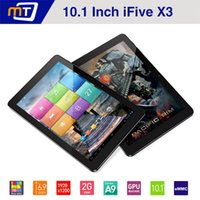 Wholesale 10 quot RK3188 Quad Core Android Tablet PC FNF iFive X3 FHD Retina IPS GB GB AAC MP mAh HDMI Tablet Ultra Slim