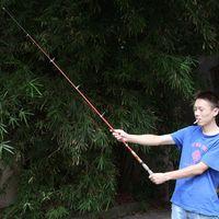Wholesale 2 M Portable Telescopic Fishing Rod Travel Spinning Fishing Pole Carbon HW01044