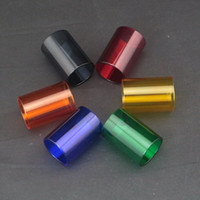 atomizer parts - 2015 Replacement pyrex colorful glass tube for aspire atlantis v1 v2 atomizer atlantis RDA triton tank glass tank replace glass tube part