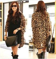 western clothing - Western Girl Women Leopard Batwing Sleeve Ponchos Blouse for Women Lady girls Shirts Clothing