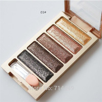 Wholesale Brand Professional Eyeshadow Palette colors Stage Makeup Waterproof Long lasting Gillter Satin Styling Tools Eye shadow Makeup A2