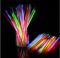 Wholesale New christmas festivities ceremony fluorescent bracelets night glow sticks LED toys for Olympic quality first