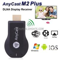 ipush airplay dongle al por mayor-Anycast M2 Plus iPush mini WiFi pantalla de TV Dongle receptor 1080P Airmirror DLNA Airplay Miracast compartir fácilmente HDMI Android Stick de TV de alta definición