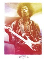Wholesale Jimi Hendrix Custom HD Home Decor Retro Classic Vintage Movie Poster Print x75cm Wall Sticker KO