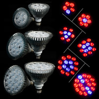 Wholesale LED Grow Lights E27 W Red Bule Hydroponic Plant Grow Growth LED Light Bulb