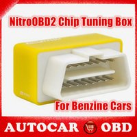 performance chip - 2015 Hot Selling NitroOBD2 for Benzine cars performance Chip Tuning Box car fuel saver yellow nitro obd2 More Power More Torque