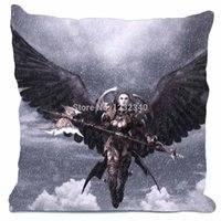 aion game - Aion Tower of Eternity Games Fantasy Girls Style throw Pillowcase Custom18x18 Inch Twin Sides Home Car Cushion Cover