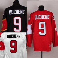 Cheap Factory Outlet, Customized Olympic 2014 9# Matt Duchene Men's Red ,Black,White Canada stitched Hockey Jersey