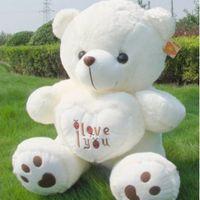 baby love doll - LOVE Love Bear Teddy Bear Baby Bear plush toy doll large doll holding heart Bear