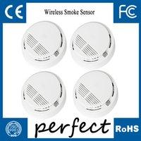 fire alarm - Stable Photoelectric Wireless Smoke Detector for Fire Alarm Sensor