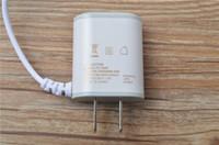 100pcs AC DC de viaje portátil adaptador de fuente de alimentación de 5V 1.5A adaptador de enchufe de los EEUU de la alta calidad para los teléfonos inteligentes con la caja