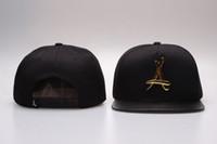 Wholesale hot Brand New Adjustable Bone tha Alumni Snapback Caps Gold A Hip Hop Sport Hats Baseball Snap back Caps