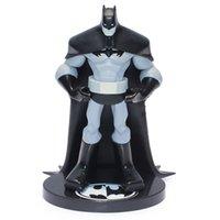 statues - Batman Action Figure DC Limited Edition quot cm Statue Batman Black White Crazy Toys PVC Model EMS