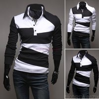 Men casual shirts for men - Spring Men s Slim Fit Shirts Plus Sized Long Sleeve T Shirts Tops For Men Cotton Casual Shirts Autumn Blusas