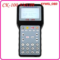 auto keys with chips - 2015 V45 CK100 Auto Key Programmer Support Till and AT89C51CC03U NXP Fix Chip with Tokens fast shipping