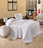 Wholesale Factory Sale Summer Whites Mulberry Silk Blanket Comforter Quilt Size Full Or Make Any Size