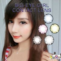 Wholesale lower price tone popular big eye girl sexy dolly looks yearly used color contact lens