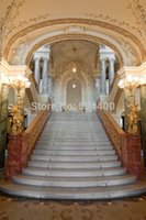 Wholesale 5X7ft vinyl backdrop photography background indoor staircase backdrop XT