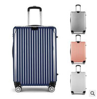 Wholesale Suitcases ABS universal wheel rolling suitcase female male PC luggage suitcase card board box gift