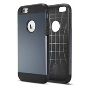 Wholesale 300PCS Tough Armor nd Shockproof Case Cover for iPhone s Plus inch No Package Free DHL