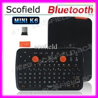 Wholesale Mini K6 Fly Air Mouse Portable Multifunctional Bluetooth Wireless Keyboard Mouse Game Pad Combo