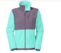wholesale sports jackets - Fashion Winter Women Fleece Jackets Winter Outdoor Sports Warm Fleece Sweatshirt Outerwear SoftShell Camping Windproof Ski Hooded Coats DHL
