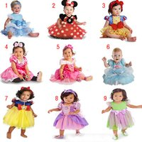 minnie dress - Kids Girls Dresses Dance Wear Dress Minnie Lace Dress Halloween Princess Dress Belle Snow White Cinderella Girl Costume Princess Dresses for