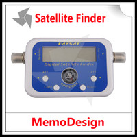 fta - Digital Satellite Signal Finder SF06 Meter Compass DirecTV Dish FTA LNB Satellite finder localizador for satelite