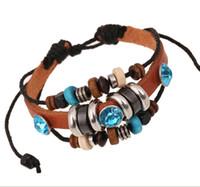 Cheap wood bead bracelet charm bead bracelet women woven seed bead bracelet bead charm bracelet handmade jewelry handmade bracelet HT0004