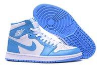 north carolina - Nike Men dan Retro High OG North Carolina Blue White Basketball Shoes Athletic Shoes