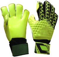 Wholesale New Thickened top goalkeeper Latex gloves Sports Football gloves Material Motorcycle Glovescy