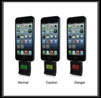 Cheap Free Shipping 10pcs lot Ipega Digital Breath Alcohol Tester Analyser For iPhone 6 5 5S 5C  iPod   iPad 4 iPAD Mini iPad Air